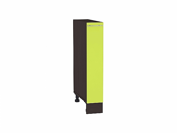 Шкаф нижний бутылочница Валерия НБ150 (лайм глянец)
