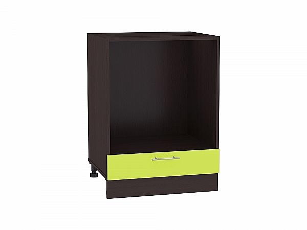 Шкаф нижний под духовку Валерия НД600 (лайм глянец)