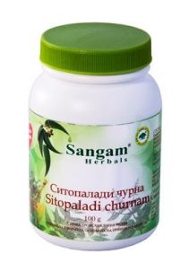 Ситопалади чурна | Sitopaladi churna | 100 гр | Sangam Herbals