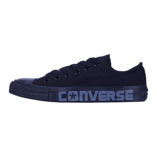 Кеды низкие Converse Chuck Taylor All Star с надписью черные