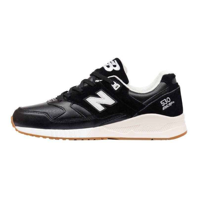 Кроссовки New Balance 530 Encap черно-белые