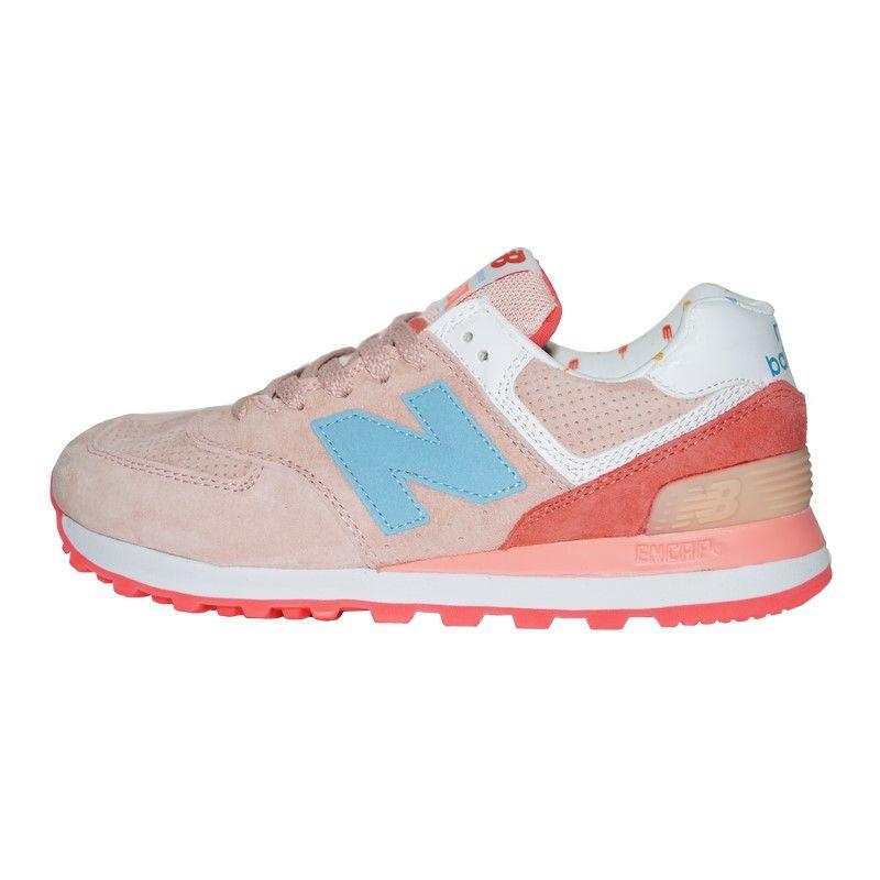 Кроссовки New Balance 574 Pink Blue