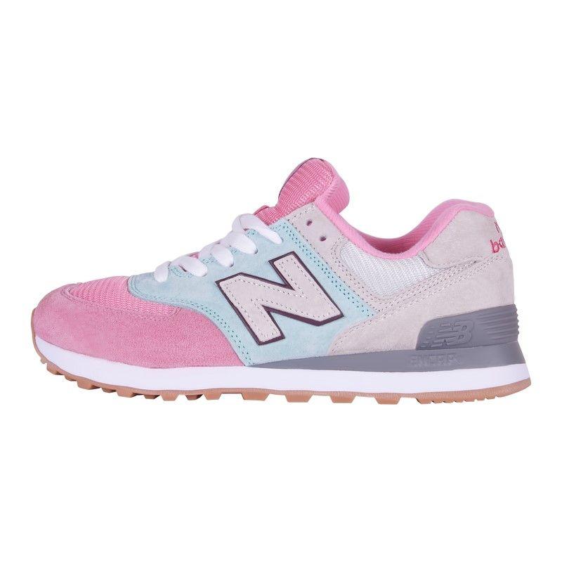 Кроссовки New Balance 574 розовые