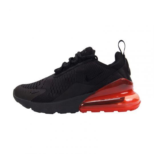 Кроссовки Nike Air Max 270 чёрно-красные