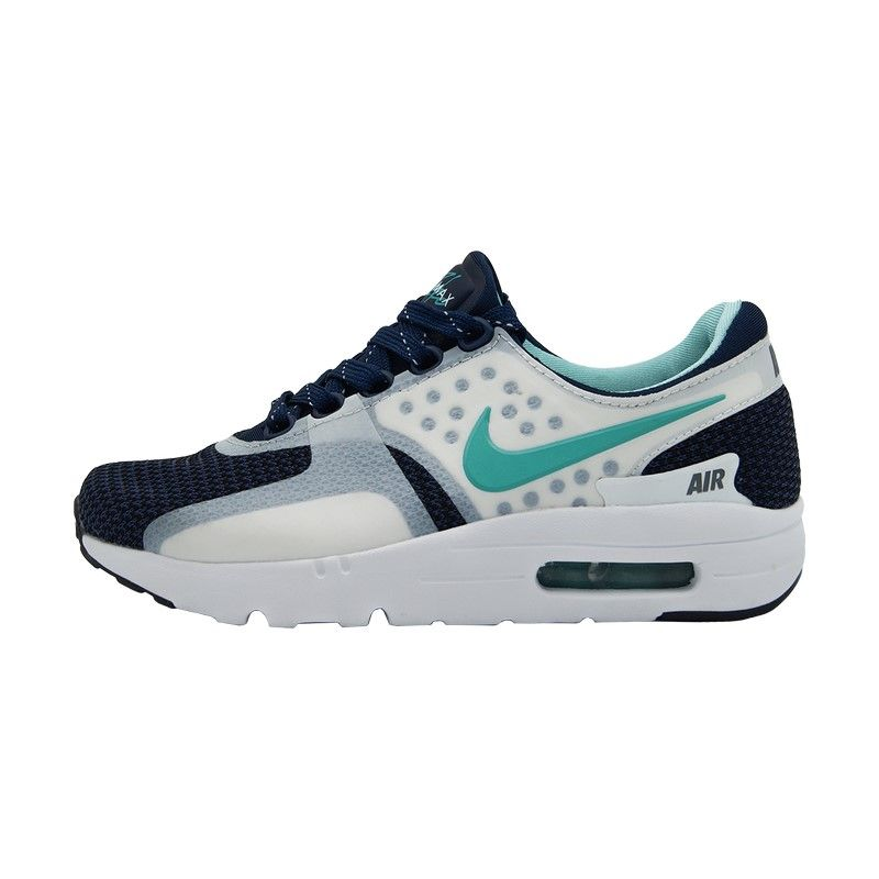 Кроссовки Nike Air Max Zero бело-голубые