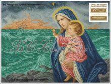 БІМ БС Солес. Богородица с Иисусом Морская. А3 (набор 2175 рублей)