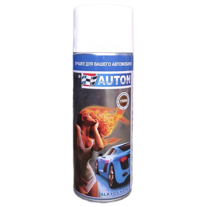 """Auton Автоэмаль, название цвета """"28 апельсин"""", в аэрозольном баллоне, объем 520мл."""