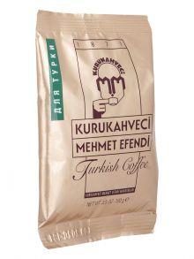 Турецкий кофе KURUKAHVECI MEHMET EFENDI, 100 грамм
