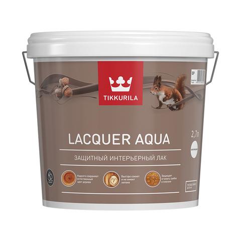 Лак Аква полуглянцевый – Euro Lacquer Aqua