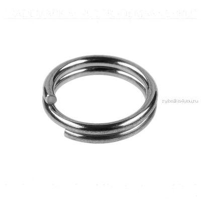 Кольца Заводные Sprut SR-01 SN #8/20кг (Split Ring Silver Nickel) упаковка 16шт