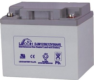 Батарея аккумуляторная Leoch 12В 38Ач DJM1238