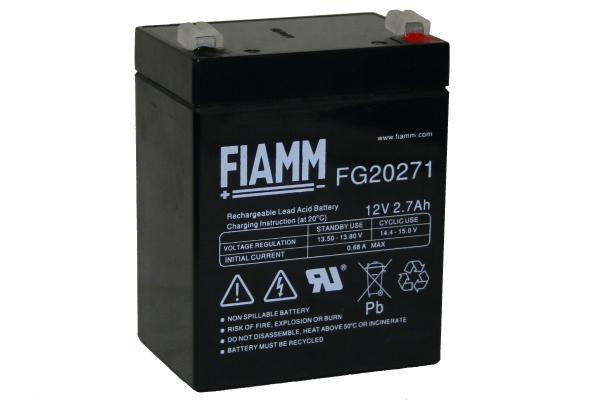 Батарея аккумуляторная FIAMM 12В 2.7Ач FG20271
