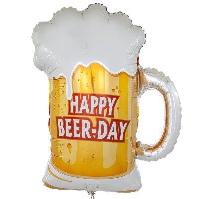 Шар фольга Фигура Пиво в кружке