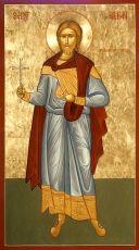 Икона Албан Веруамский святой