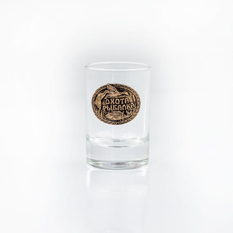 РЮМКА ОХОТА-РЫБАЛКА коллекционная сувенирная