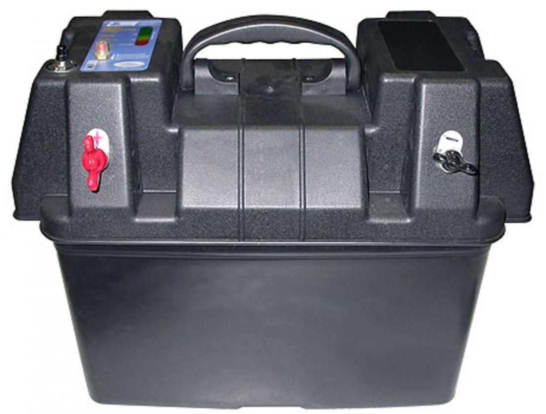 бокс для аккумулятора для X-Power-5, пластиковый, полный комплект левый + правый включая разъемы левый,правый
