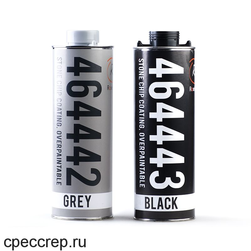 Антигравийное антикоррозийное покрытие, окрашиваемое, чёрное, 1 л