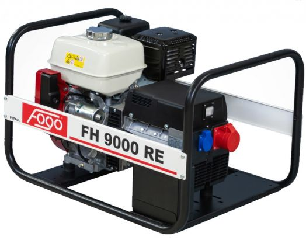 Бензиновый генератор Fogo FH9000 RE (AVR)