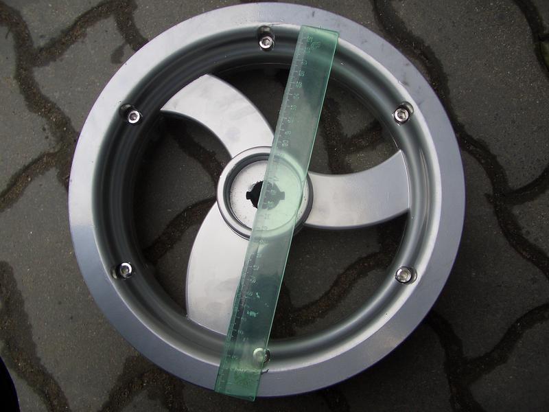 Диски для электроколясок для Observer Максимус (алюминиевый) 12 дюймов 31cm