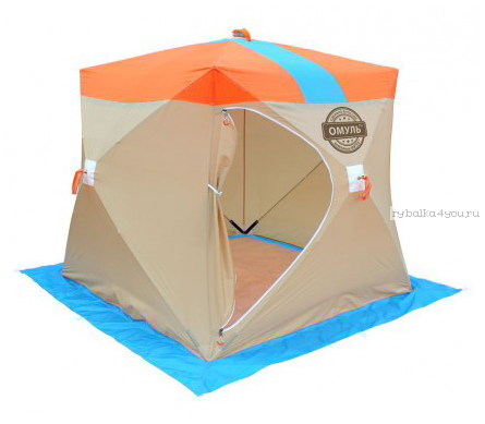 Купить Палатка зимняя Митек Омуль Куб 2-местная