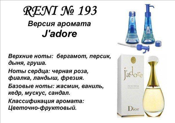 духи Reni № 193