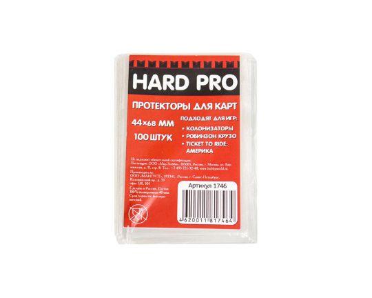 Протекторы HardPro (стандарт., для карт 44х68 мм)