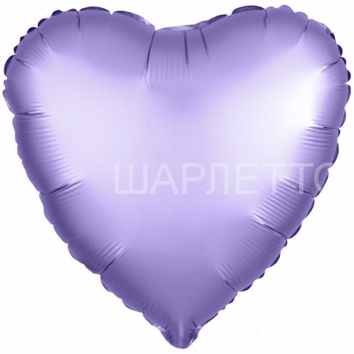 Сердце САТИН ЛАЗУРНЫЙ