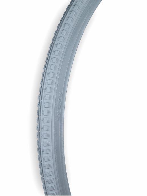 Покрышка колеса 22 х1,3 / 8 пневматическая, серая,ETRTO: 37-489 4,5 bar,CHENG SHIN TIRE