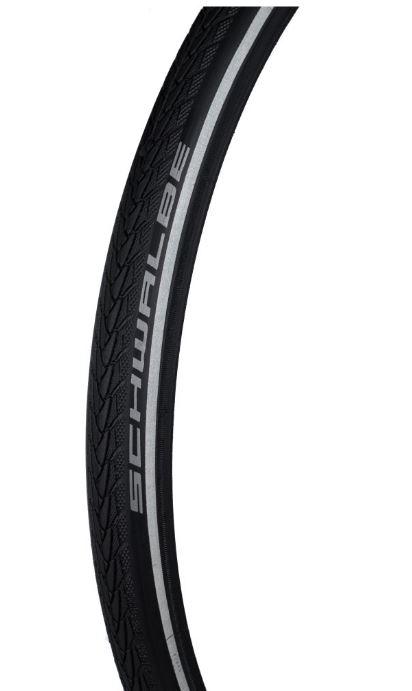 Покрышка колеса 22x1 (570x25) Marathon Plus Evolution, черная 6-10 BAR