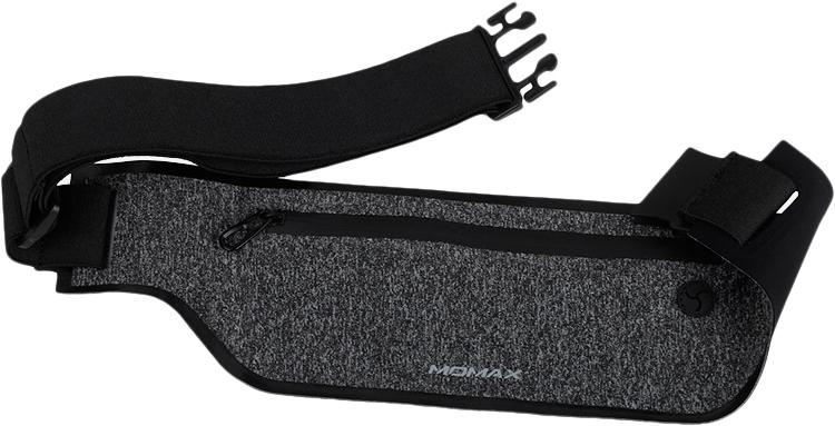 Спортивный чехол на пояс Momax XFIT Fitness Belt (SR2) для смартфона (Black)