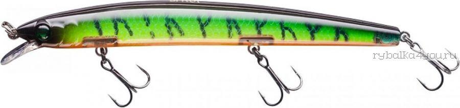 Воблер Sprut Haku 3D 130F 130 мм / 14,5 гр / Заглубление: 0,5-1 м / цвет: GGRT-3D