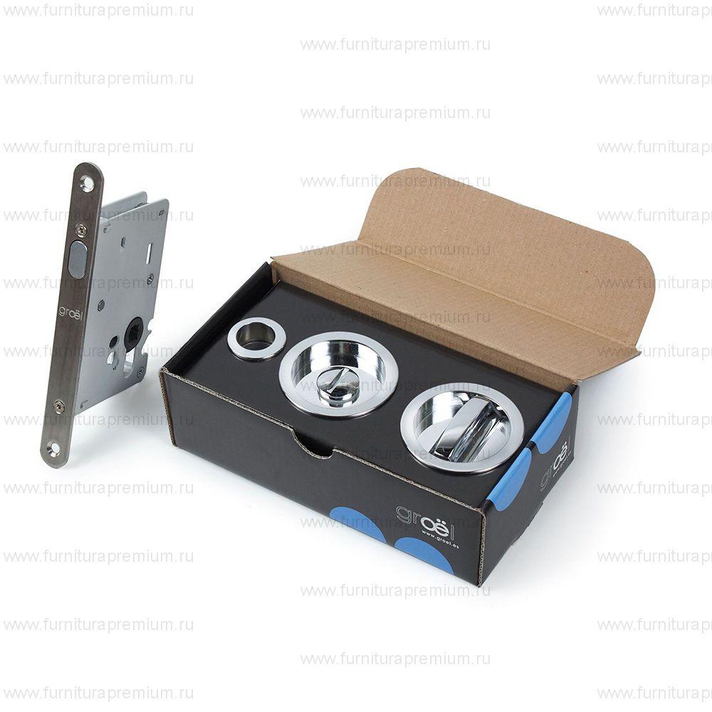 Ручка Groel 1200 Kit для раздвижных дверей с замком