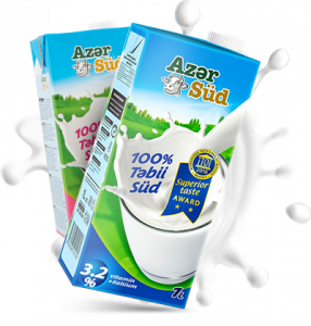 Азерсуд Молоко 1 лт 3.2%
