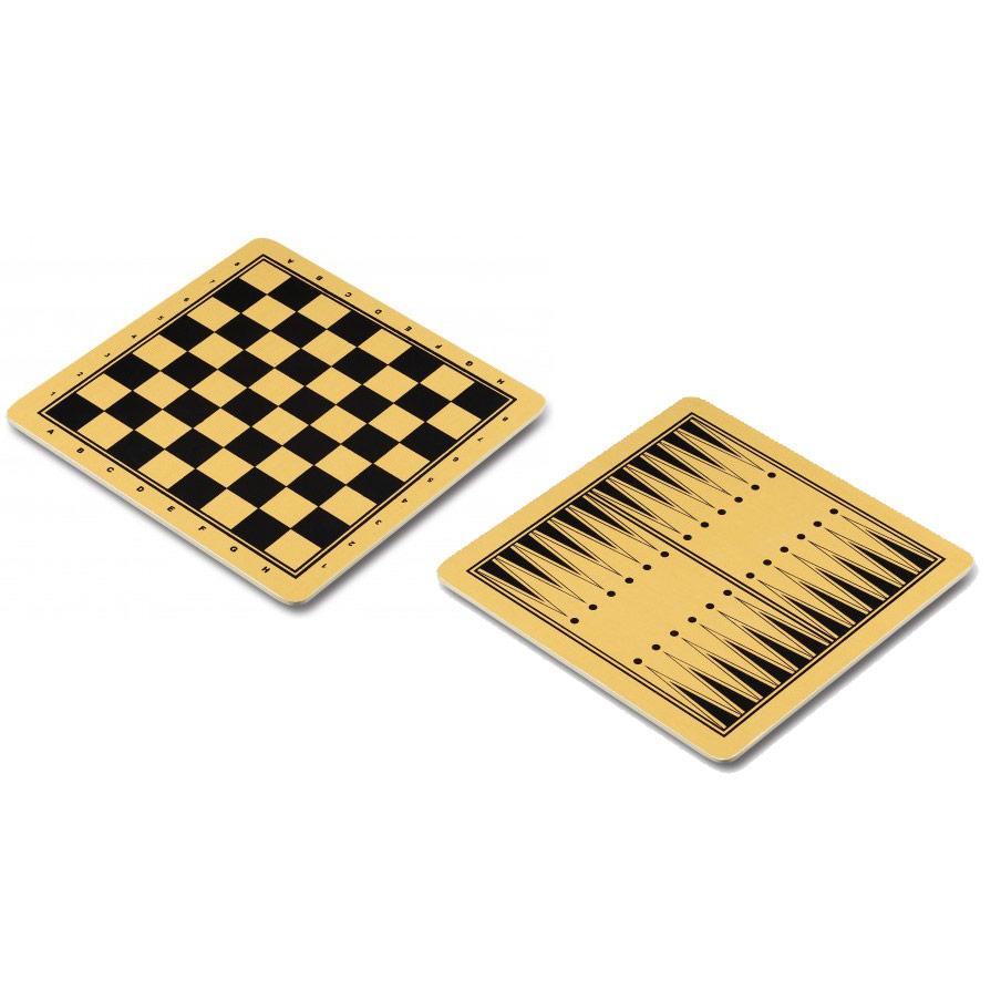 Поле шашки/шахматы/нарды 09352 Q (ламин. картон) 30x30см
