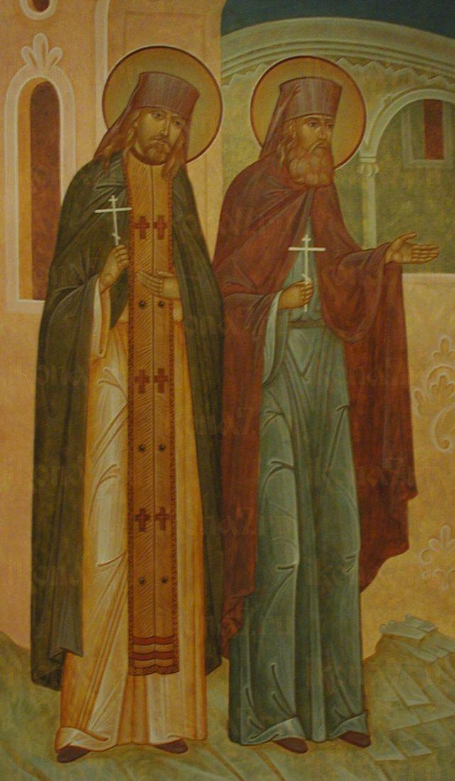 Икона Антоний Белогорский преподобномученик