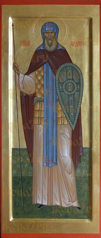Икона Андрей Радонежский преподобный