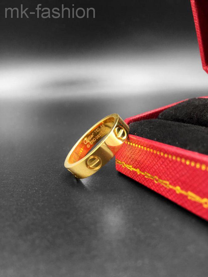 Cartier кольцо Love Gold