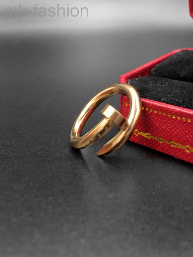 Cartier кольцо гвоздь Pink Gold