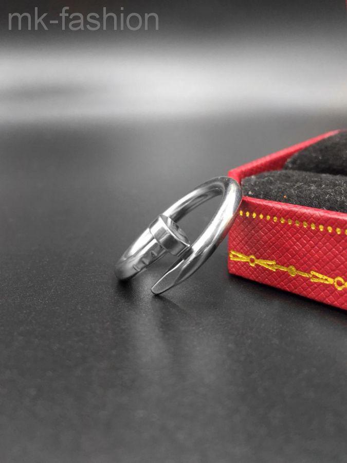 Cartier кольцо гвоздь SILVER