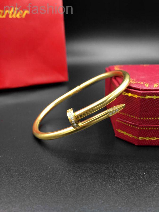 Браслет Bracelet Juste un Clou Gold фианит
