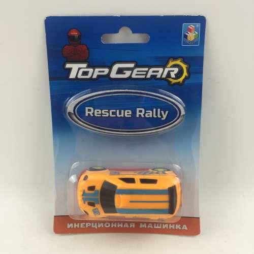 1toy Top Gear Пластмассовая инерционная машинка Rescue Rally, блистер