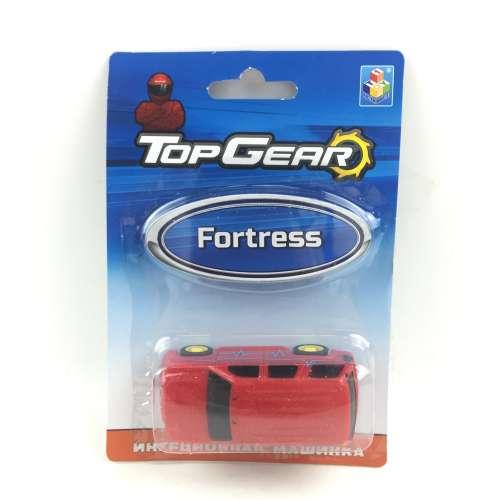 1toy Top Gear Пластмассовая инерционная машинка Fortress, блистер