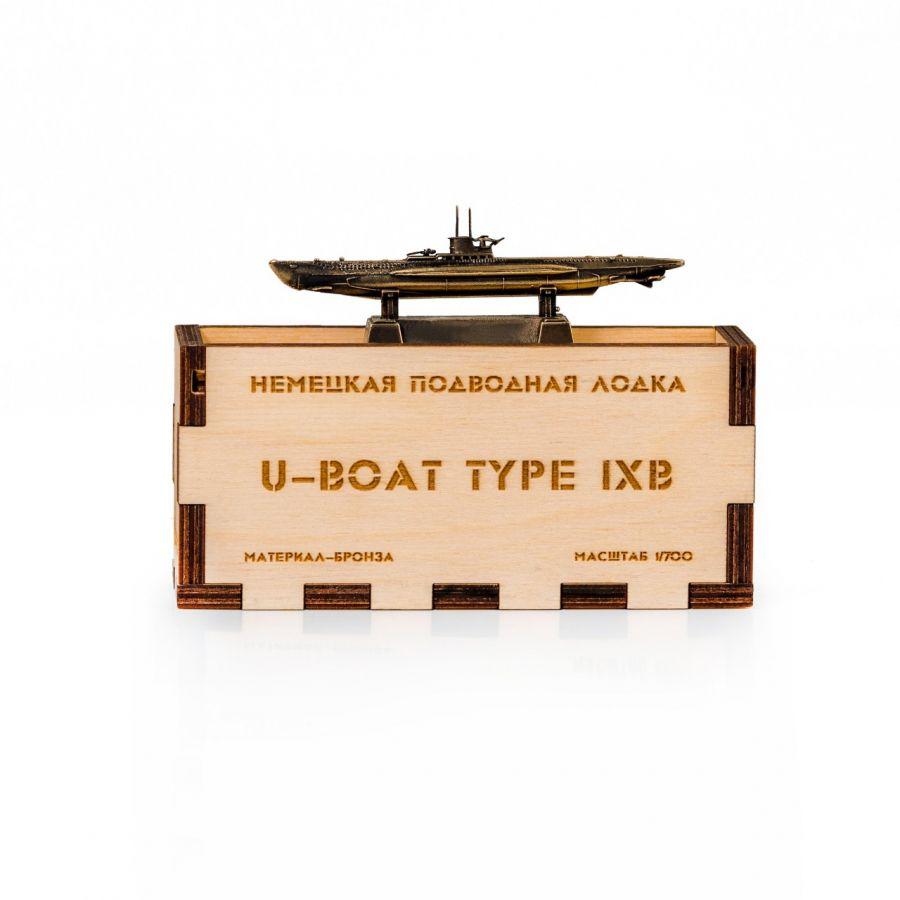 ПОДВОДНАЯ ЛОДКА немец. U-BOAT TYPE IX B 1/700