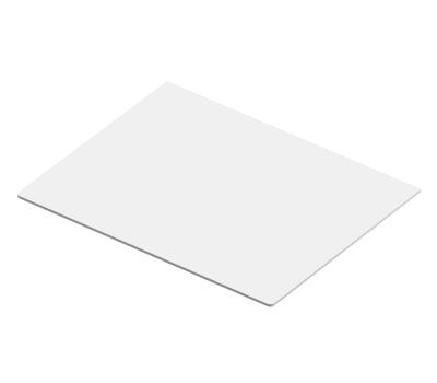Крышка для полки аксессуаров, белое дерево, серия 460, L=607