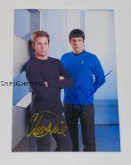 Автографы: Крис Пайн, Закари Куинто. Star Trek / Звездный путь