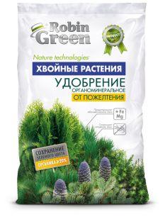 Удобрение сухое Робин Грин от пожелтения хвои гранулированное 2,5кг - все для сада, дома и огорода!