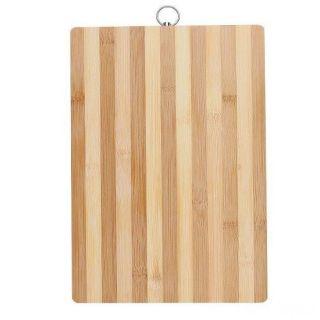 Бамбуковая разделочная доска, Размер: 16х26 см