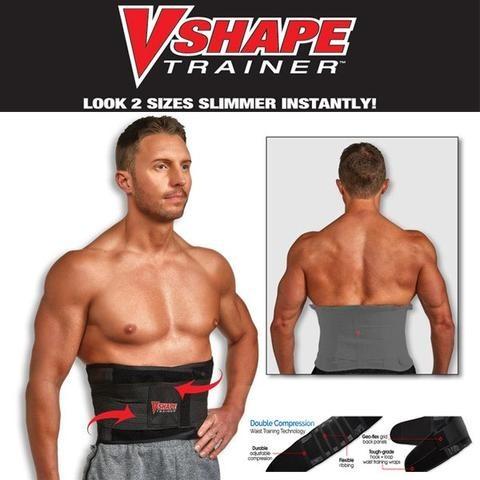 Корректирующий пояс для похудения Vshape Trainer, Размер L/XL