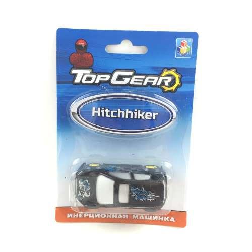 1toy Top Gear Пластмассовая инерционная машинка Hitchhiker, блистер
