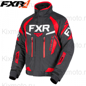 Куртка FXR Team FX - Black/Red мод. 2019